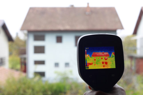 Houston Home Inspection Thermal Imaging
